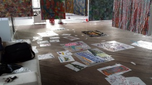 Work in progress 20 March 2015 - Weedon Studio - Linda Sgoluppi  (12) - Copy
