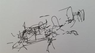 Night drawing - Linda Sgoluppi (1)