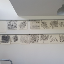 Drawings on the new tab grabs studio Bugbrooke